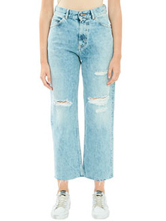 Golden Goose Deluxe Brand-Jeans Pant Komo in denim celeste