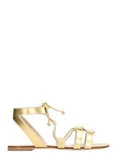 Vicini-Sandali Jop  in pelle oro