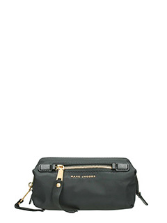 Marc Jacobs-Framed big bliz black leather clutch