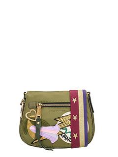 Marc Jacobs-Nylon patchwork green nylon bag
