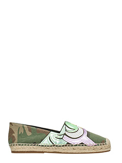 Marc Jacobs-Espadrillas Sienna   in canvas  camouglage verde