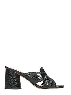 Marc Jacobs-Aurara multi black leather sandals