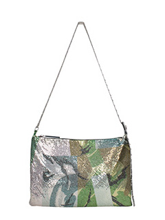 Kenzo-Borsa Brass in metallo camouflage
