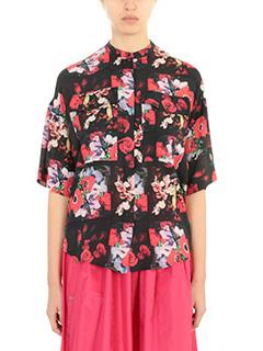 Kenzo-Floral shirt multicolor silk shirt