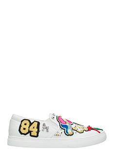 Marc Jacobs-Sneakers Mercer Slip on in pelle bianca