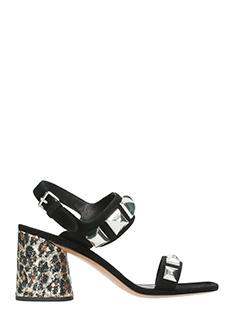 Marc Jacobs-Emilie studdes black suede sandals