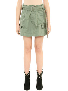 Marc Jacobs-Gonna Cargo in cotone verde