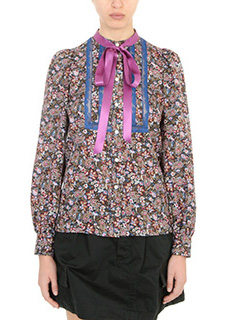 Marc Jacobs-Blusa in seta multicolor