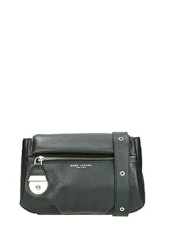 Marc Jacobs-Borsa Mini Bag in pelle martellata nera