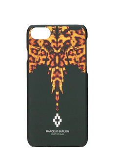 Marcelo Burlon-Cover Penelope iphone 7 in plastica nera