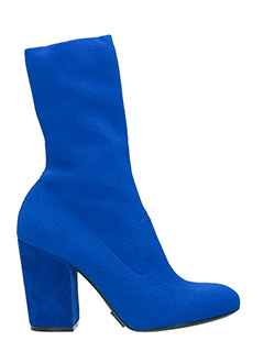 Elena Iachi-blue Tech/synthetic ankle boots