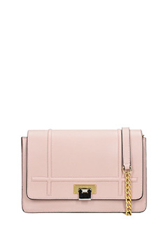 Visone-Borsa Lizzy Medium in pelle rosa