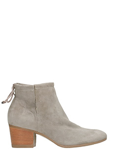Dei Colli-grey suede ankle boots