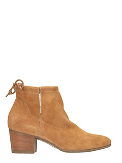 Dei Colli-leather color suede ankle boots
