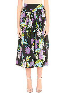 Diane Von Furstenberg-Gonna Ring Mid in seta nera