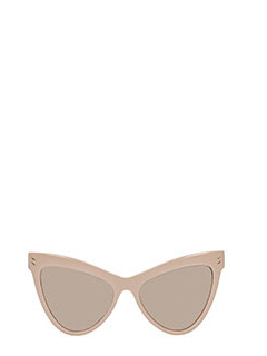 Stella McCartney-Occhiali da Sole Cat Eye Oversize in bio acetato rosa