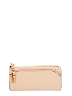 Chlo�-powder leather wallet