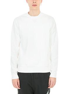Golden Goose Deluxe Brand-Felpa Sweater in cotone bianco
