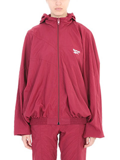 Vetements-bordeaux nylon outerwear
