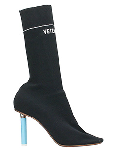 Vetements-black Tech/synthetic boots