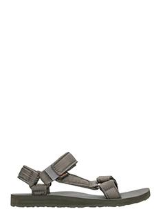 Teva-Sandali Universal Ripstop in tessuto grigio