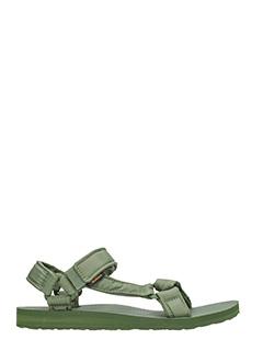 Teva-Sandali Universal Ripstop in tessuto verde