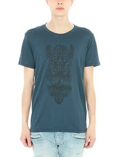 Balmain-T-shirt in cotone naxy