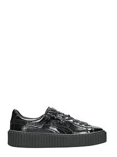 Puma Fenty-Sneakers Creepers Fenty X Puma in vernice nera