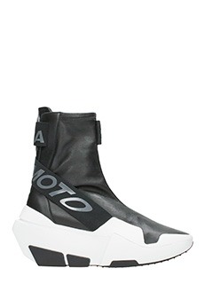 Y-3-Sneakers Mira Boost in pelle nera