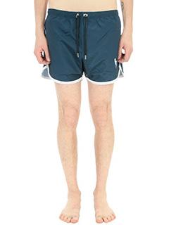 Neil Barrett-Costume boxer in tessuto tecnico blu