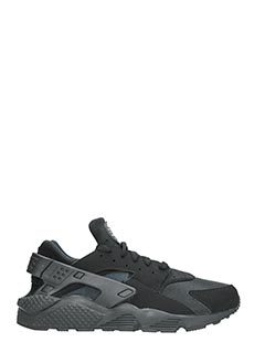 Nike-Huarache black Tech/synthetic sneakers
