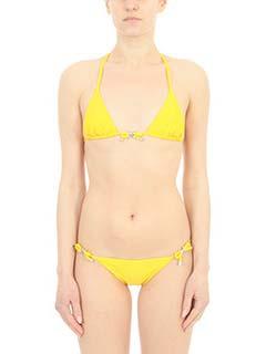 Dsquared 2-Bikini Triangle in lycra gialla