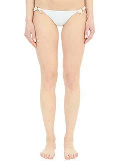 Dsquared 2-Slip Bikini in lycra bianca