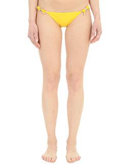 Dsquared 2-Slip Bikini in lycra gialla
