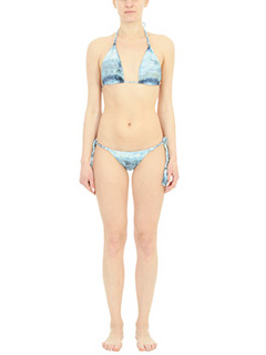 Despi-Costume Mikonosl Bikini in lycra multi blue