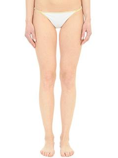 Salinas-Calca Reta white polyamide beachwear