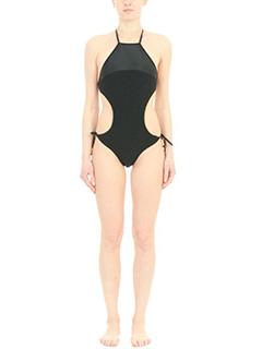 Salinas-Maillot Engana black polyamide beachwear