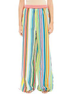 PORTS 1961-Pantaloni in cotone multicolor