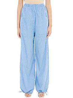 PORTS 1961-Pantaloni in cotone azzurro