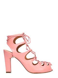 CHiE-Sandali  Apasi in pelle rosa