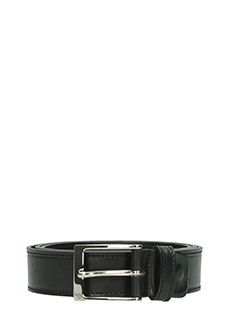 Deliberti-Cintura  in pelle nera