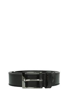 Deliberti-Cintura  in camoscio nero