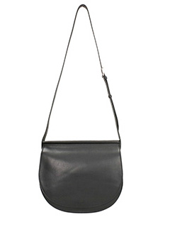 Givenchy-Borsa Infinity Saddle in pelle nera