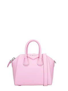 Givenchy-Borsa Antigona Mini in pelle bright pink