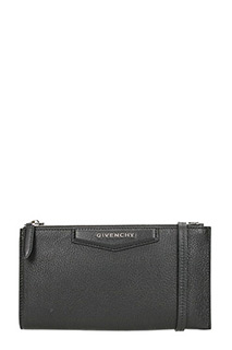Givenchy-Pochette Antigona Cross body in pelle nera