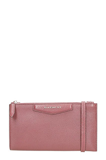Givenchy-Pochette Antigona Cross body in pelle bordeaux
