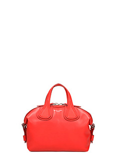 Givenchy-Borsa Nightingale Micro in pelle rossa