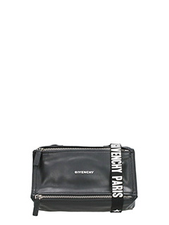 Givenchy-Borsa Pandora Mini in pelle  nera