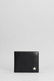 Givenchy-Portafoglio Billfold Wallet in pelle nera