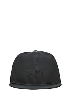 Givenchy-Cappello Givenchy in cotone nero